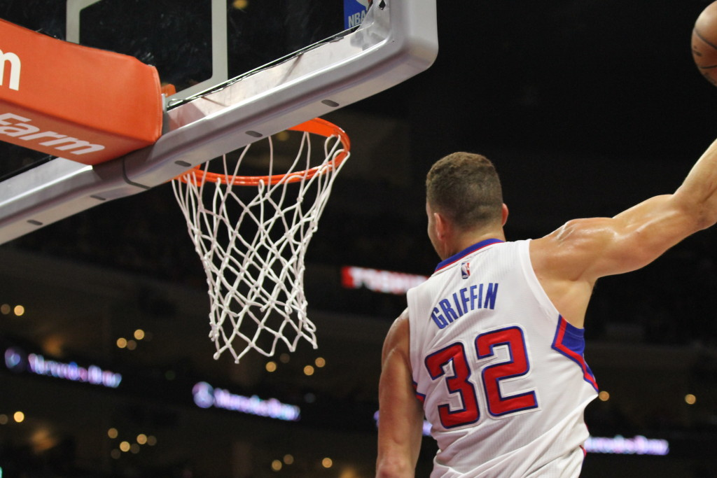 Blake Griffin On His Way Up For A Nasty Dunk. Photo by Full Image 360