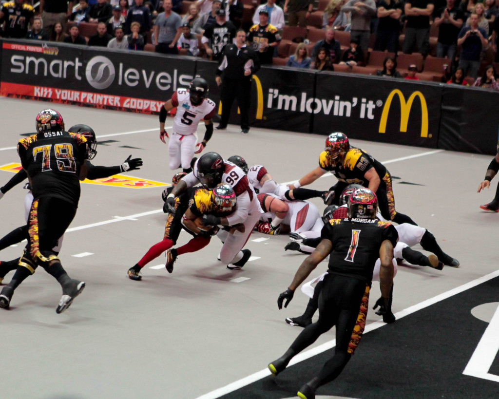 LA Kiss could only smell the endzone. Photo by Jevone Moore / Full Image 360