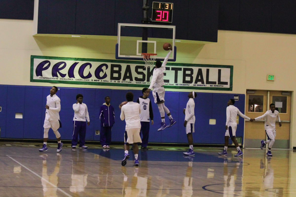 Price Knights Basketball (Photo by Jevone Moore)