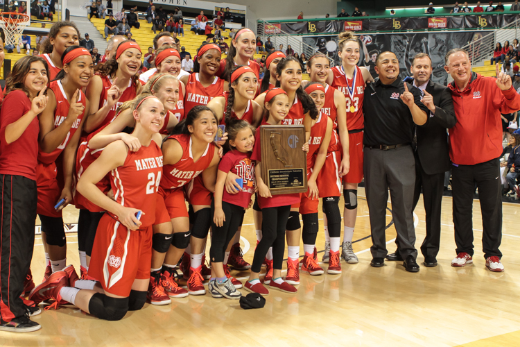 CIF State Reginal Finals High School Basketball Championship