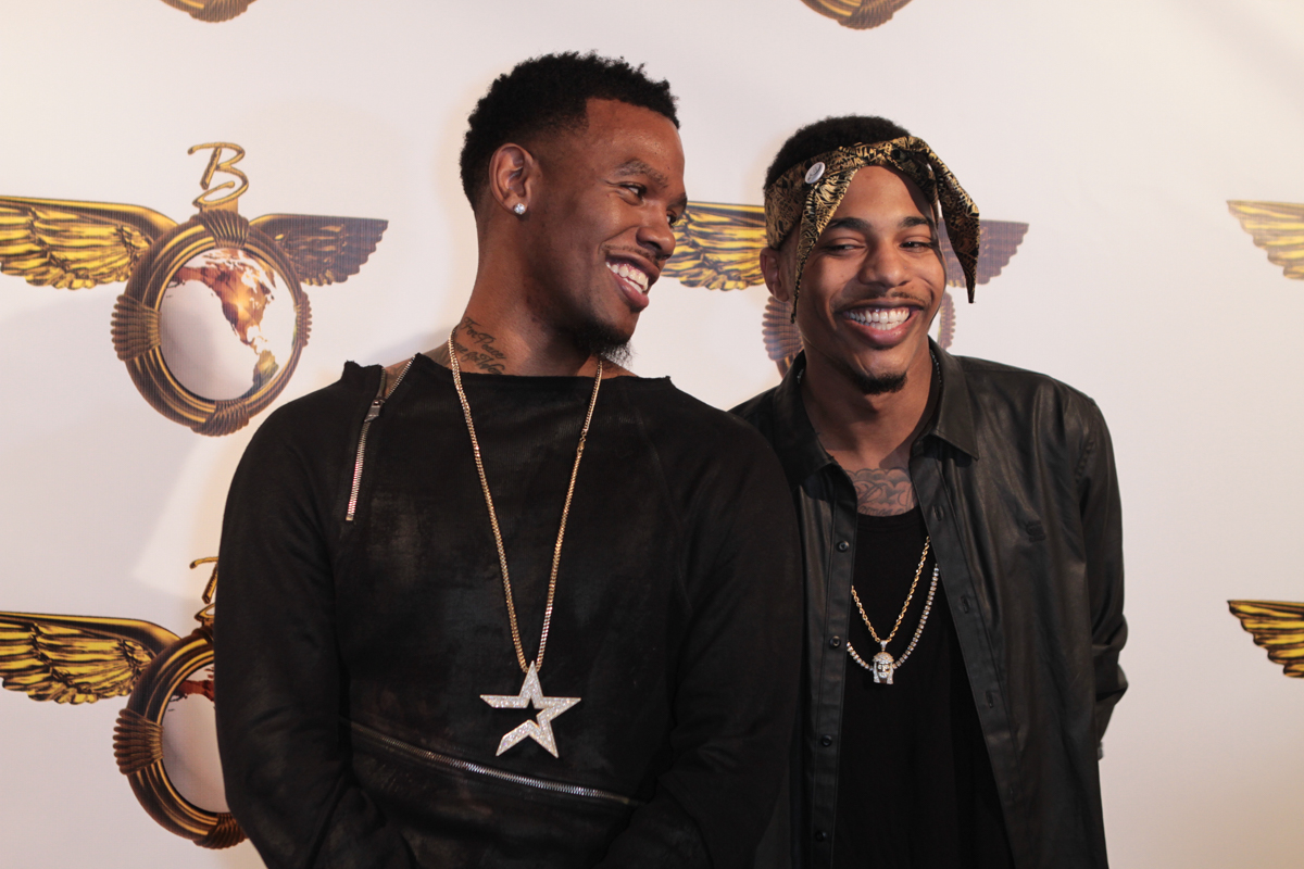 Birthday Boy Daniel Gibson and Brother K Ford Enjoying the Night. Photo by Full Image 360