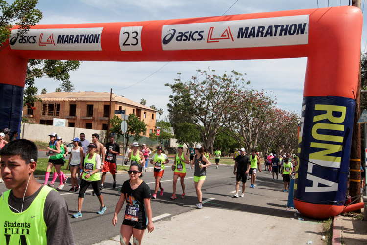 23rd Miles Marker at 30th Annual LA Marathon. All Photos by Full Image 360 / Jevone Mooe