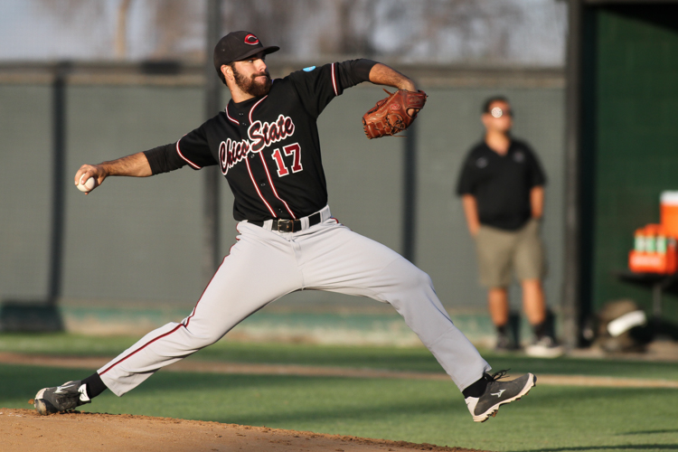 Chico State Pitcher Luke Barker
