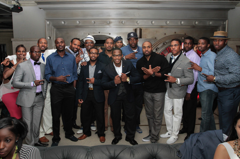 The Brothers of Phi Beta Sigma Frat. Inc. All Photos by Jevone Moore