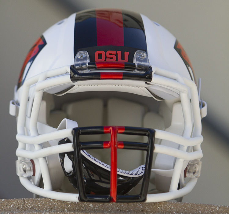 OSU Beavers Helmet Photo by Jevone Moore