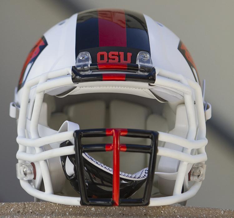 OSU Beavers Helmet Photo by Jevone Moore