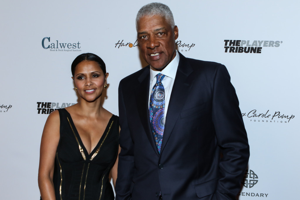 Dr. Julius Erving & Wife all Dressed up. Photo by Jevone Moore