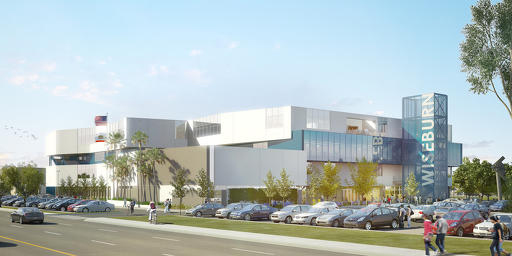 The New Design of New Wiseburn Charter High School in El Segundo.