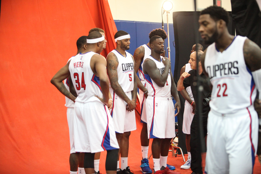 Los Angeles Clippers Media Day 2015 NBA Basketball Photo by William Jaye Johnson