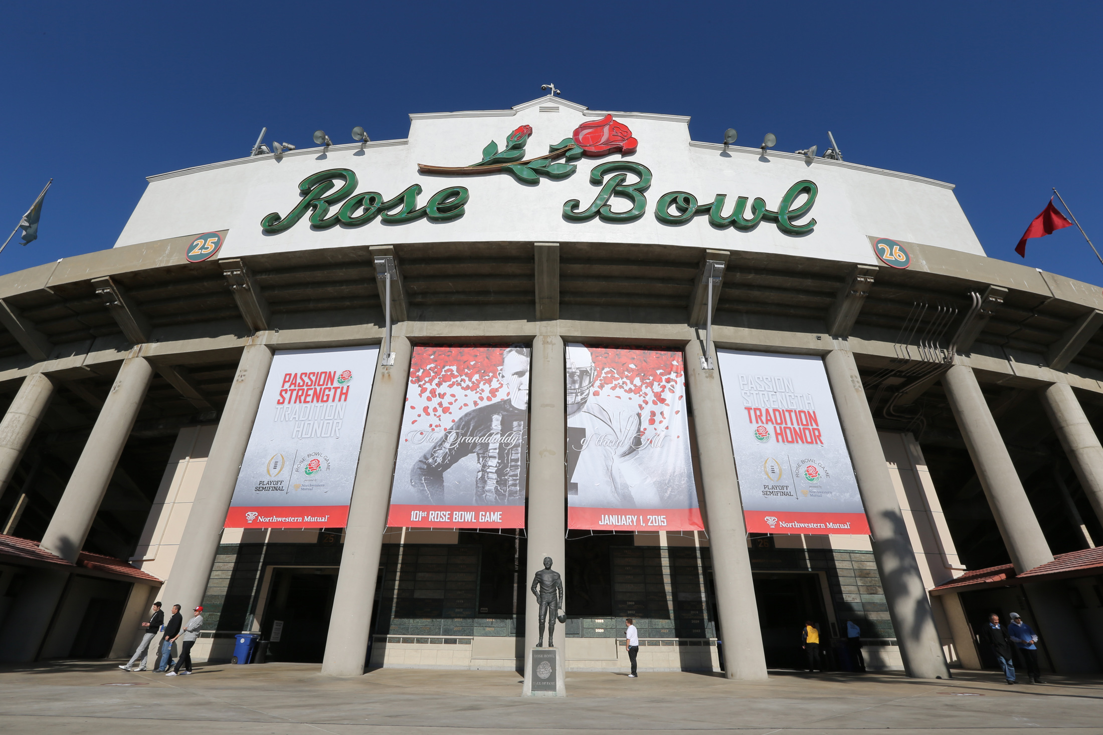 Florida State vs Oregon Ducks at the Rose Bowl in College Football Playoff - Rose Bowl