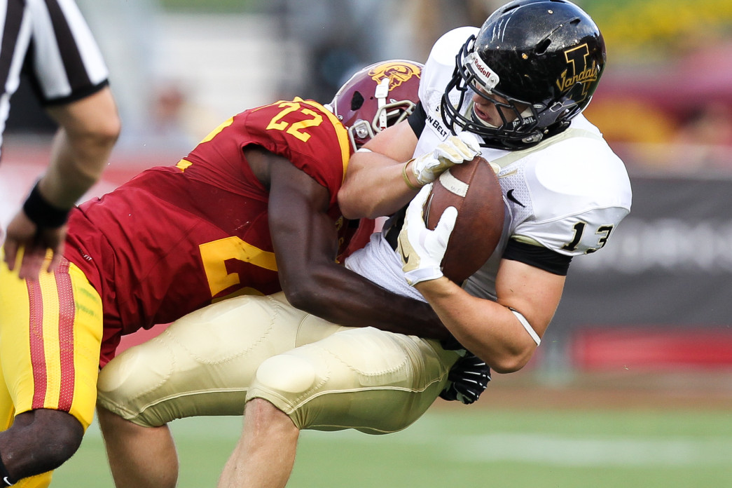USC Trojans Slams Idaho. Photo by Jordon Kelly