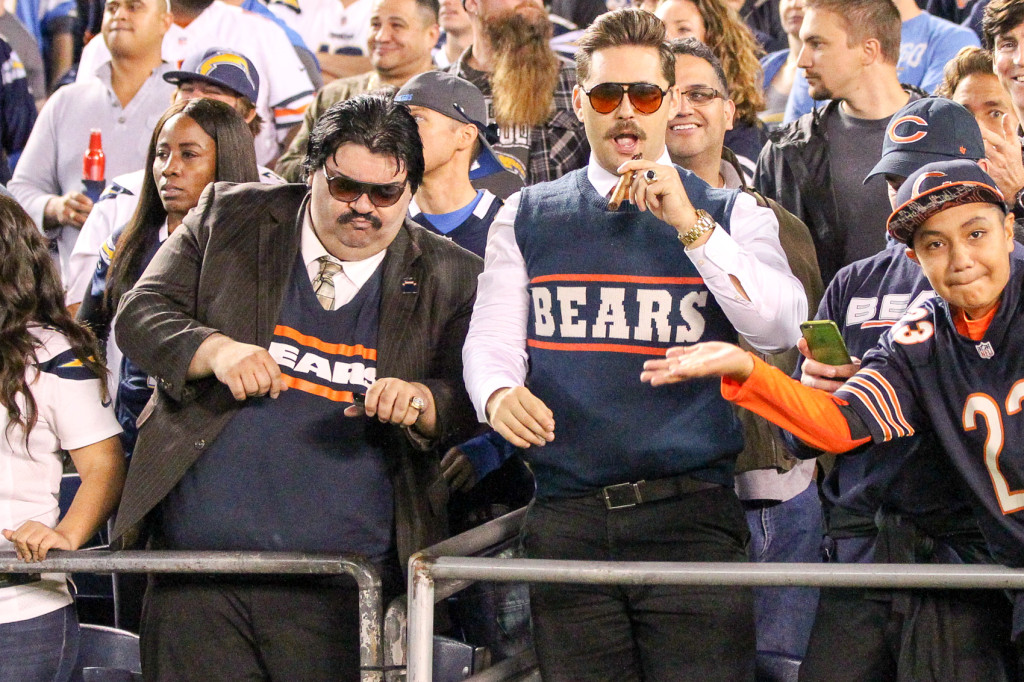 Nov 9: Bears fans always showing former coach Ditka love at the Chicago Bears vs San Diego Chargers (Photo by Jordon Kelly)