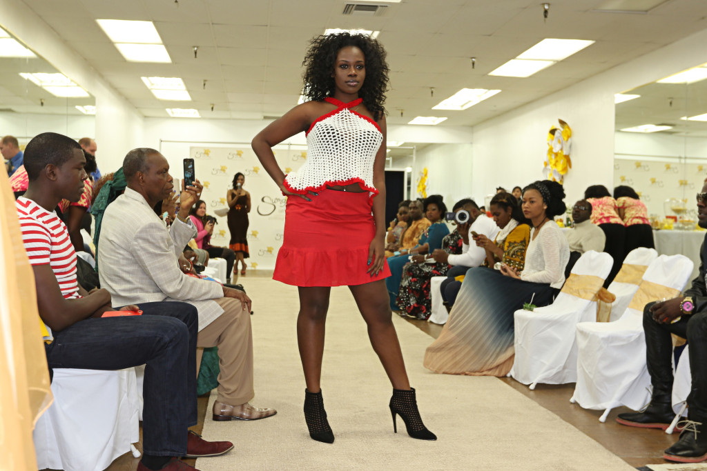 Sumahrie Collections Fashion Show at Dancer 4 Life LA Dec. 12th, 2015. (Photo by Jevone Moore/Full Image 360)
