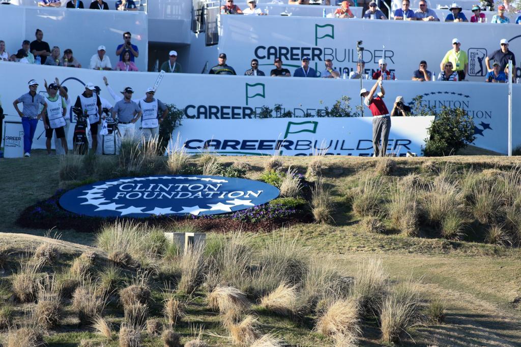 Final Round action of PGA Golf during the CareerBuilder Challenge at PGA West TPC Stadium Course in La Quinta, CA. (Photo by Jevone Moore/Full Image 360)