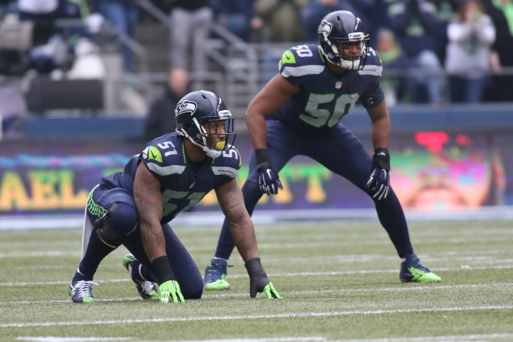 Nov 29: NFL first half action Pittsburgh Steelers vs Seattle Seahawks at CenturyLink Field in Seattle Washington. (Photo by Jevone Moore/Full Image 360)