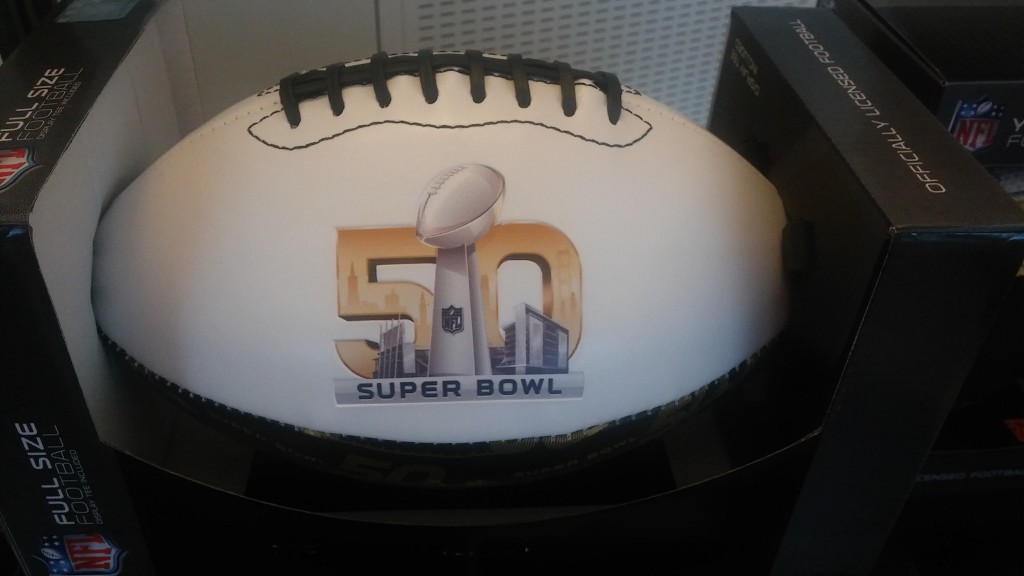 NFL Super Bowl 50 Golden year