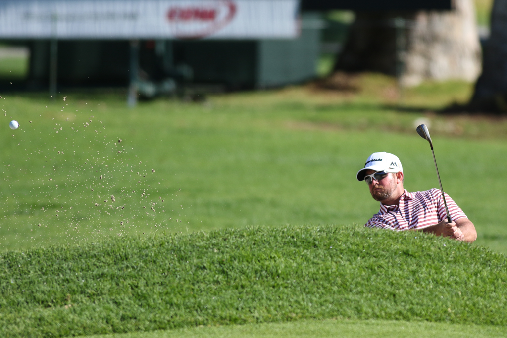 February 19, 2016: second round action of PGA Golf during the Northern Trust Open at The Riviera Country Club in Los Angeles, CA. (Photo by Jevone Moore/Full Image 360)