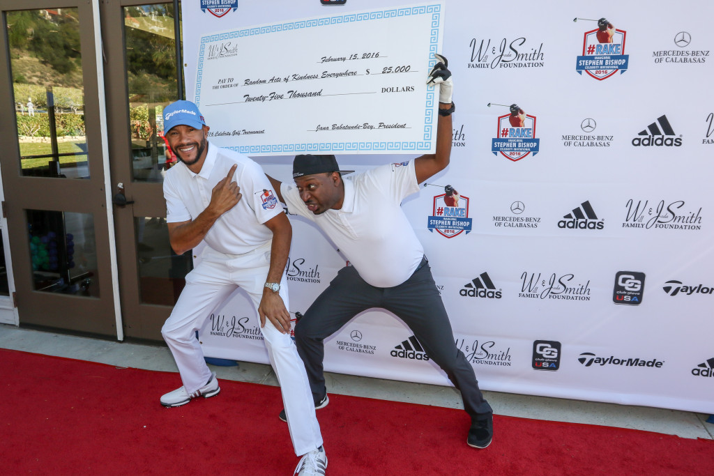 Red Carpet Arrivals at the Will Smith And Jada Pinkett Present The Stephen Bishop RAKE Invitational Golf Tournament at Calabasas Country Club. Feb 15, 2016 (Photo by Jevone Moore/Full Image 360)