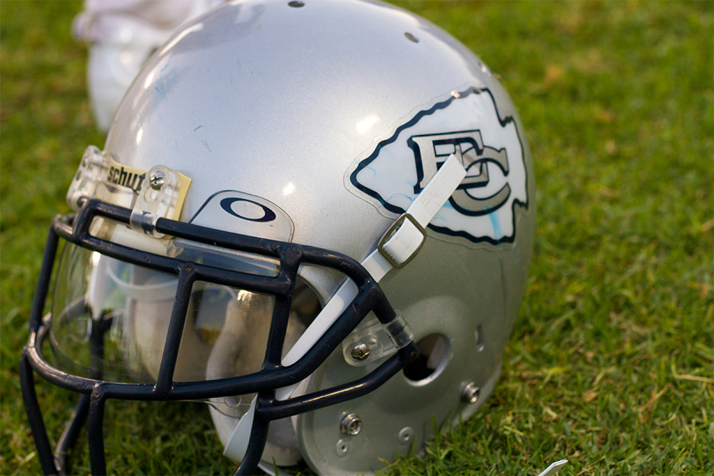 El Camino College Helmet