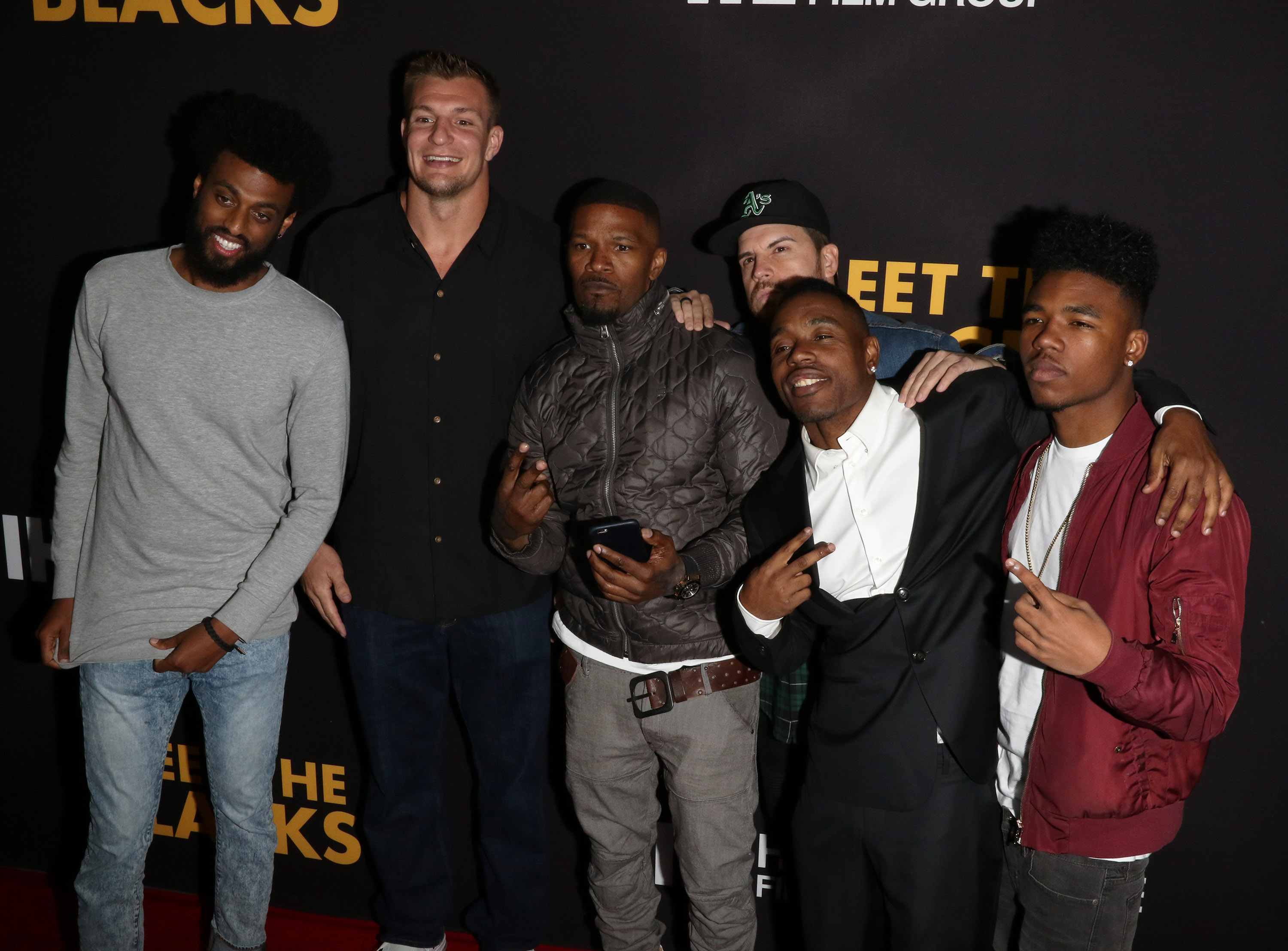 "March 29th LA Premiere ""Meet the Blacks"" arrivals at Arc Light Hollywood, CA. (Photo by Jevone Moore/Full Image 360)"