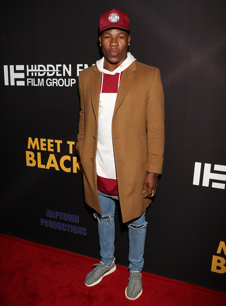 """March 29th LA Premiere """"Meet the Blacks"""" arrivals at ArcLight Hollywood, CA. (Photo by Jevone Moore/Full Image 360)"""
