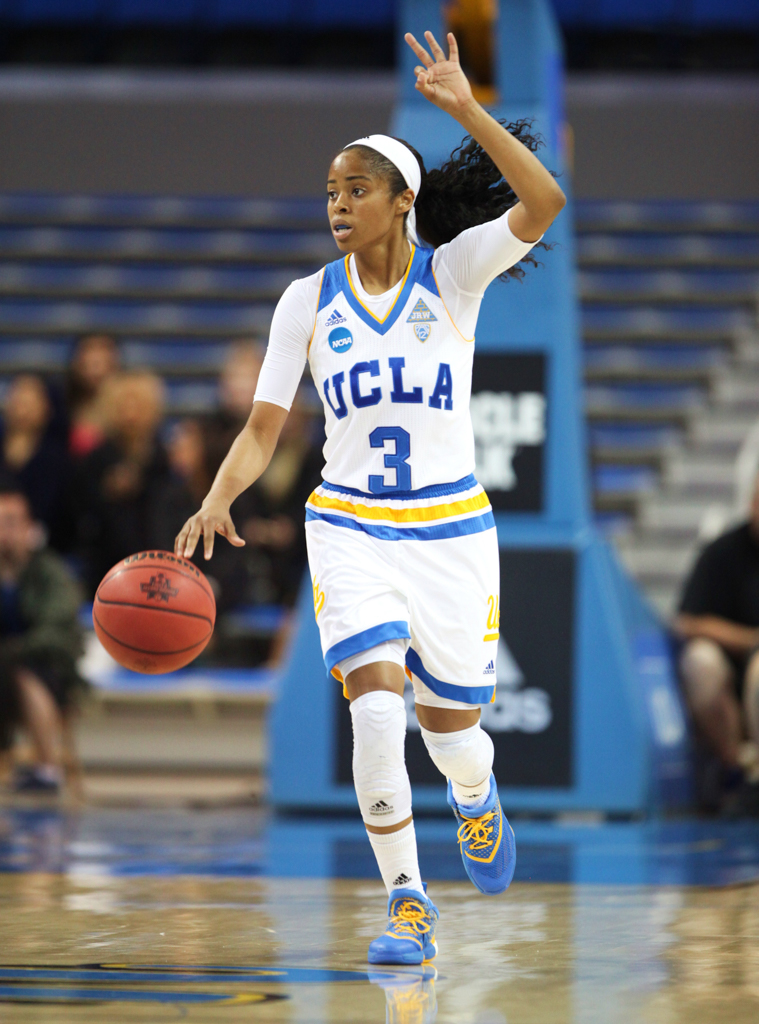 NCAA Round Two Women's Basketball South Florida vs UCLA at Pauley Pavilion in Los Angeles, Ca. (Photo by William Jaye Johnson)