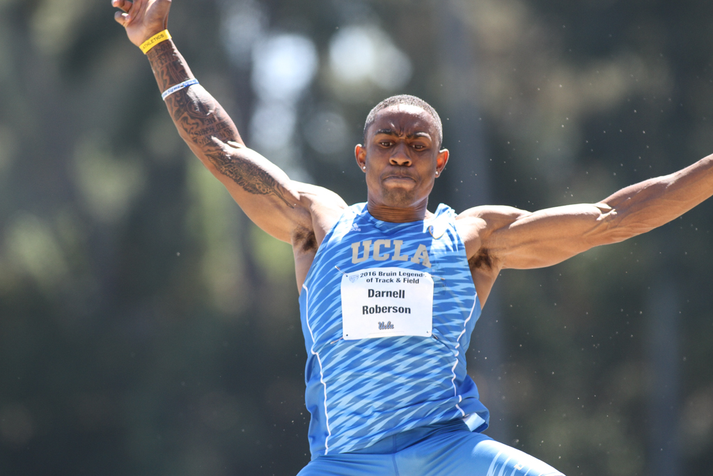 NCAA 2016 Track & Field Bruin Legends of Track and Field Invitational on campus at Drake Stadium in Los Angeles, CA. (Photo by Jevone Moore/Full Image 360)