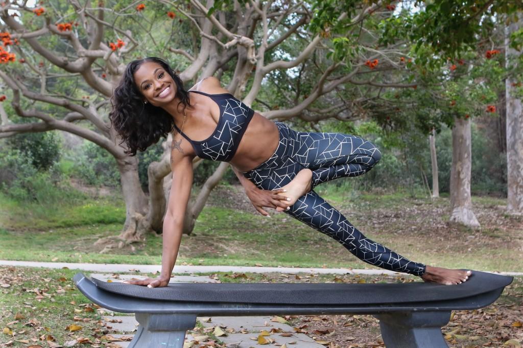 21 Day Yoga Challenge Pose Salena Collins - Photo by Jevone Moore / Full Image 360