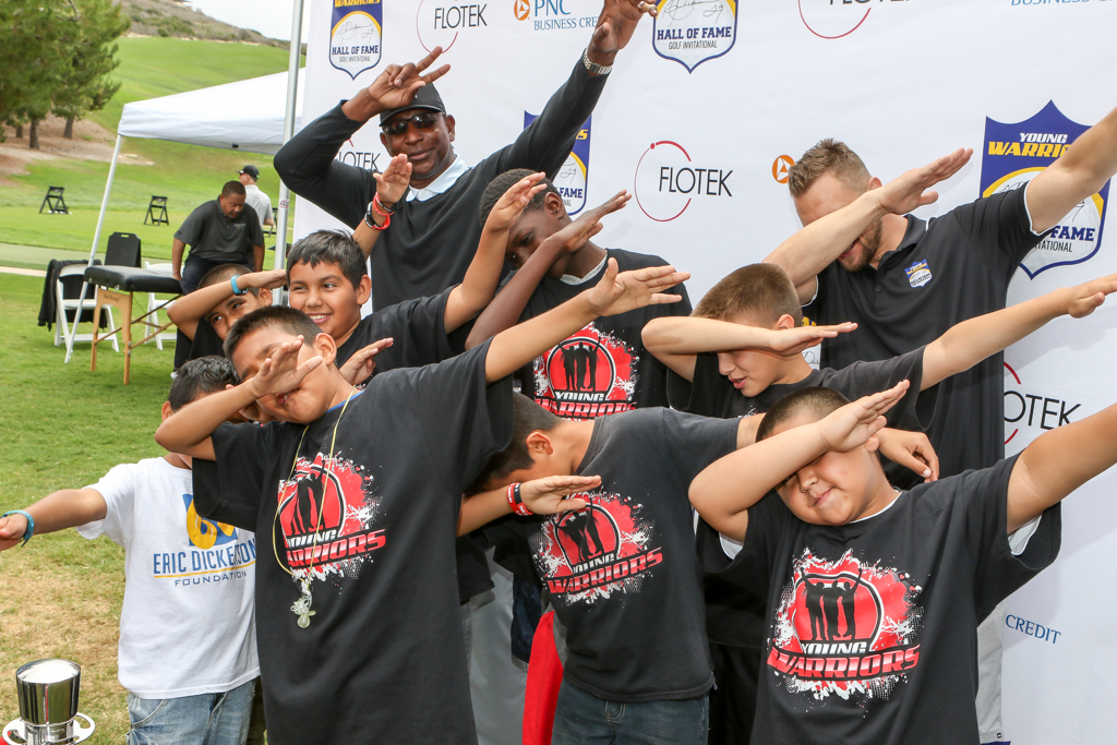 NFL Legend Hall of Fame RB Eric Dickerson host Third Annual Hall of Fame Golf Invitational benefiting The Young Warriors Foundation presented by Flotek in Newport Beach, Ca on June 13th, 2016. (Photo by Jevone Moore/Full Image 360)