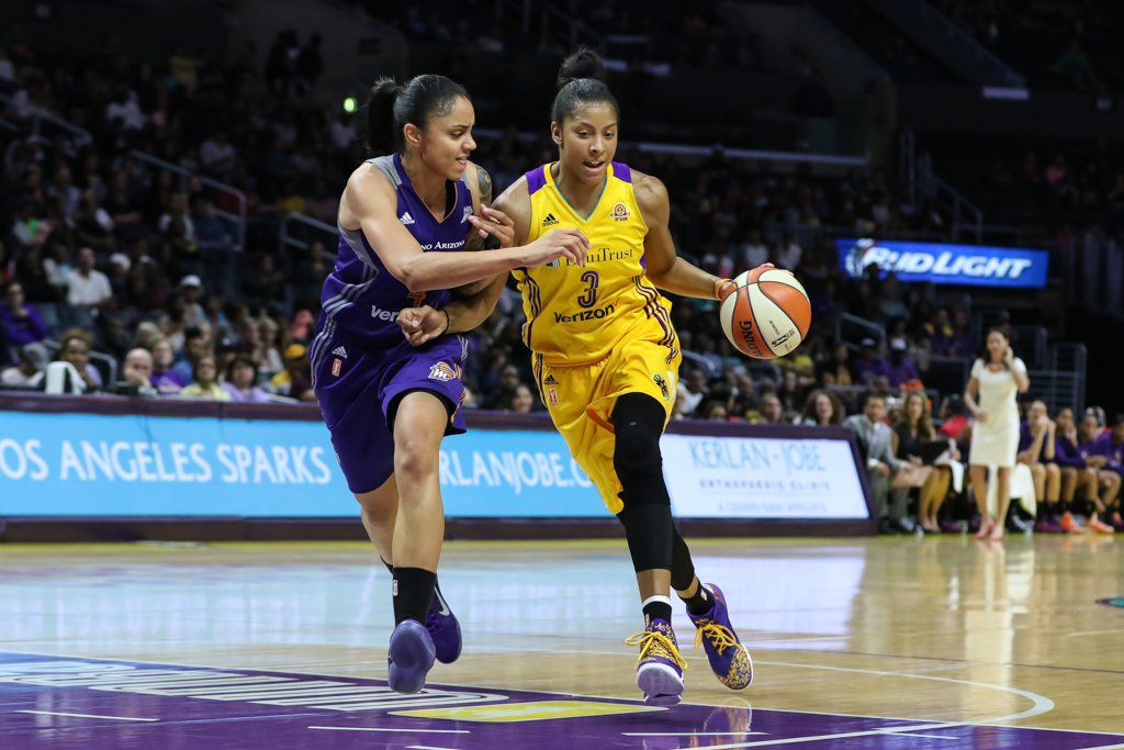 wnba, los angeles sparks, phoenix mercury, candace parker, staples center, 20th season, fi360 news