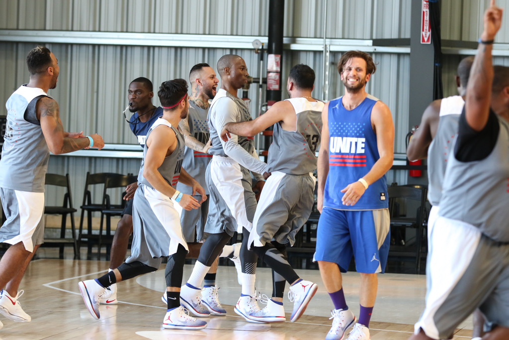 USA Basketball on display with History of Past & Present stars at the Air Hanger in Hawthorne, Ca. on July 24, 2016. (Photo by Jevone Moore/Full Image 360)