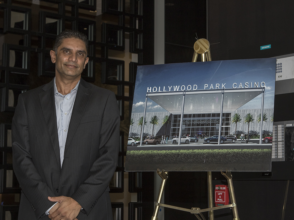 Media Tour of the new Cary Grant Pavilion Hollywood Park Casino on August 9th, 2016 on site in Inglewood, Ca. (Photo by Jevone Moore/Full Image 360)