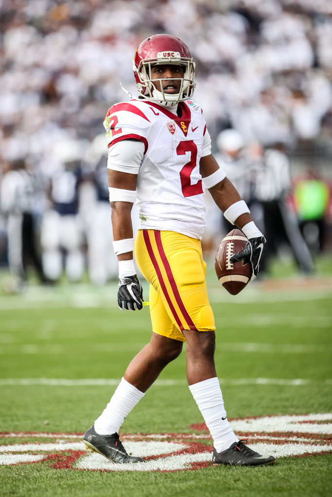 January 2, 2017 Pasadena, CA 103rd Rose Bowl: USC Trojans vs Penn State Nittany Lions at Rose Bowl Stadium on January 2, 2017. (Photo by William Johnson / fi360 News)