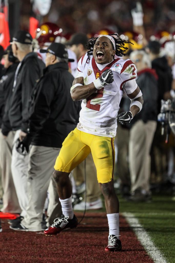 January 2, 2017 Pasadena, CA 103rd Rose Bowl: USC Trojans vs Penn State Nittany Lions at Rose Bowl Stadium on January 2, 2017. (Photo by William Johnson / fi360 News)